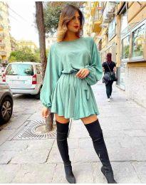 Šaty - kód 5088 - mentolová