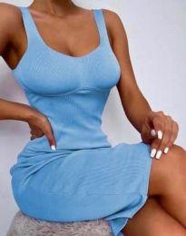 Šaty - kód 10122 - světle modrá