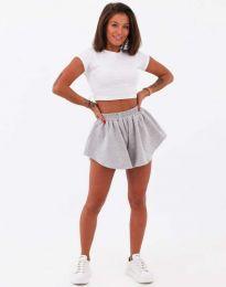 Krátké kalhoty - kód 11979 - šedá