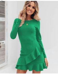 Šaty - kód 2909 - zelená