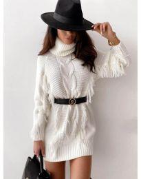 Šaty - kód 0810 - bílá