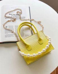 kabelka - kód B436 - žlutá