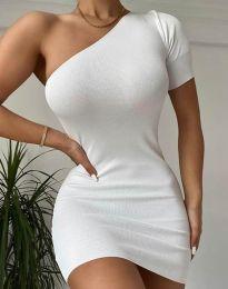 Šaty - kód 2419 - bílá