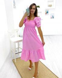 Šaty - kód 3283 - 1 - růžová
