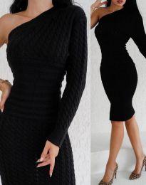 Šaty - kód 2588 - černá