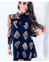 Šaty - kód 212 - černá