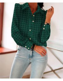 Košile - kód 654 - olivová  zelená