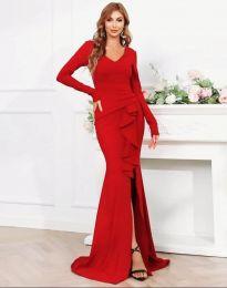 Šaty - kód 0574 - 2 - červená