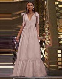 Šaty - kód 2743 - bledě růžová