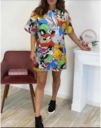 Šaty - kód 130 - vícebarevné