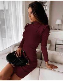 Šaty - kód 8484 - bordeaux