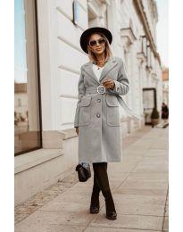 Kabát - kód 5657 - šedá