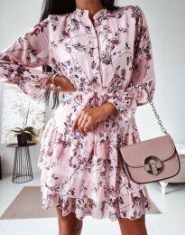 Šaty - kód 0586 - vícebarevné