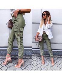 Kalhoty - kód 091 - 3 - zelená