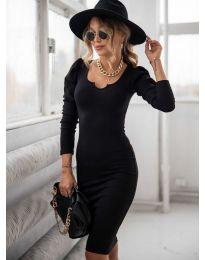 Šaty - kód 11548 - černá
