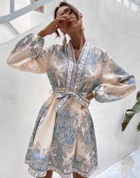 Šaty - kód 4753 - vícebarevné