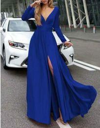 Šaty - kód 3428 - modrý