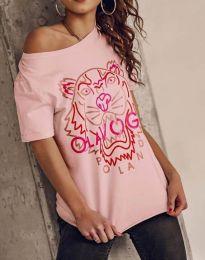 Tričko - kód 11721 - růžova