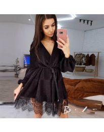Šaty - kód 3738 - černá