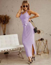 Šaty - kód 6166 - světle fialová