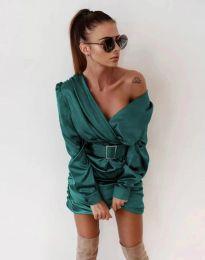 Šaty - kód 0659 - tyrkysový