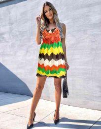 Šaty - kód 0969 - 1 - barevné