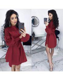 Šaty - kód 6364 - bordeaux