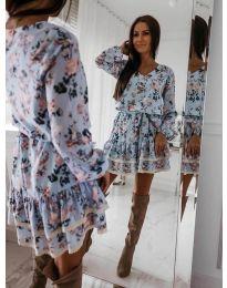 Šaty - kód 101 - modrý