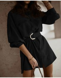 Šaty - kód 6461 - černá