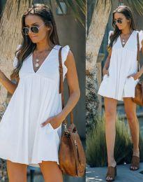 Šaty - kód 7141 - bílá