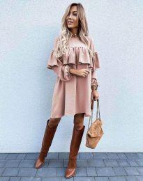 Šaty - kód 6913 - růžova