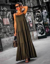 Šaty - kód 2301 - 3 - olivově zelená