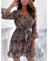 Šaty - kód 7677 - 3 - vícebarevné