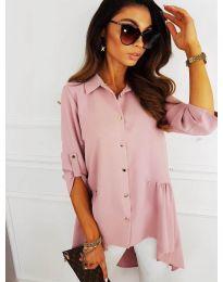 Košile - kód 5689 - růžova