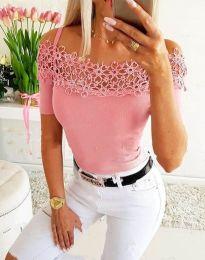 Tričko - kód 3912 - růžová