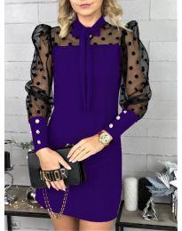 Šaty - kód 1081 - tmavě fialová