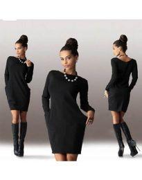 Šaty - kód 341 - černá