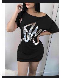Šaty - kód 1100 - černá