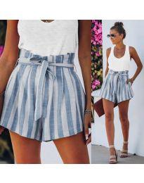 Krátké kalhoty - kód 9096 - modrý