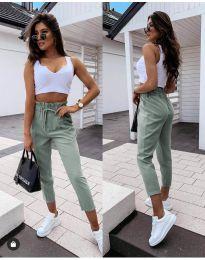 Kalhoty - kód 8585 - zelená