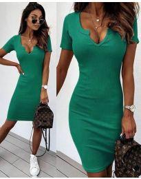 Šaty - kód 8829 - zelená