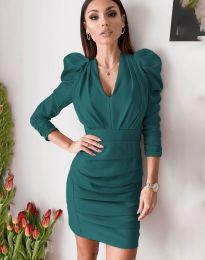 Šaty - kód 7937 - tyrkysový