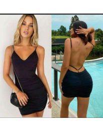 Šaty - kód 3948 - černá