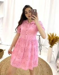 Šaty - kód 0517 - 2 - růžova