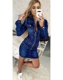 Šaty - kód 444 - tmavě modrá