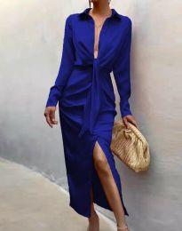 Šaty - kód 6459 - modrá