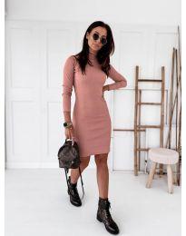 Šaty - kód 5696 - růžová