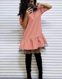 Šaty - kód 2856 - broskvová