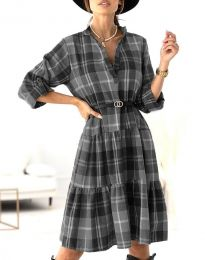 Šaty - kód 6842 - černá