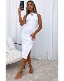 Šaty - kód 11939 - bíla